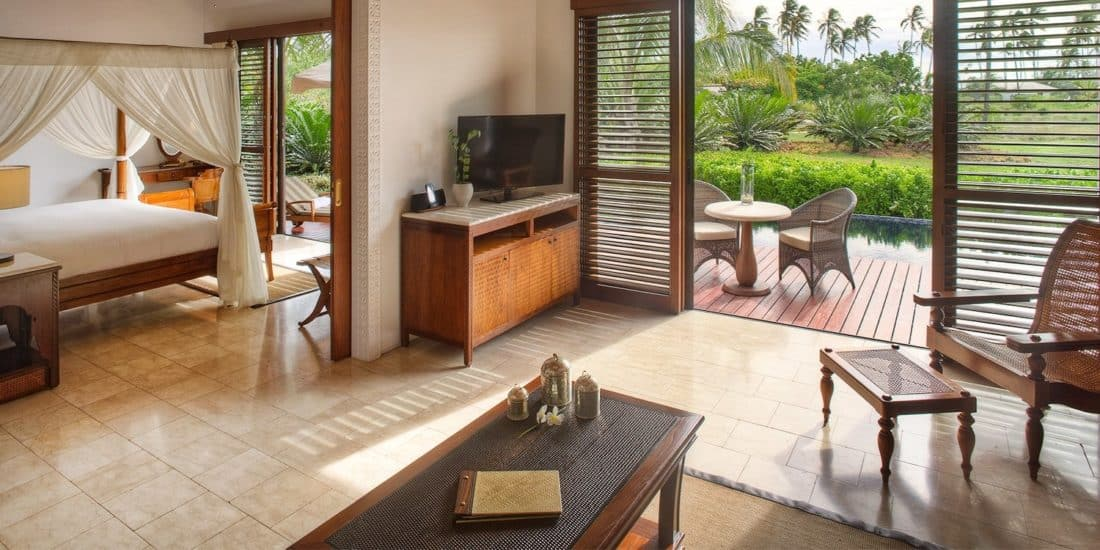 The Residence Zanzibar Zimmer