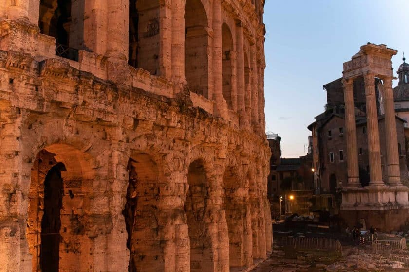 Theater Des Marcellus Rom