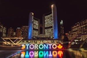 Toronto Kanada Nacht
