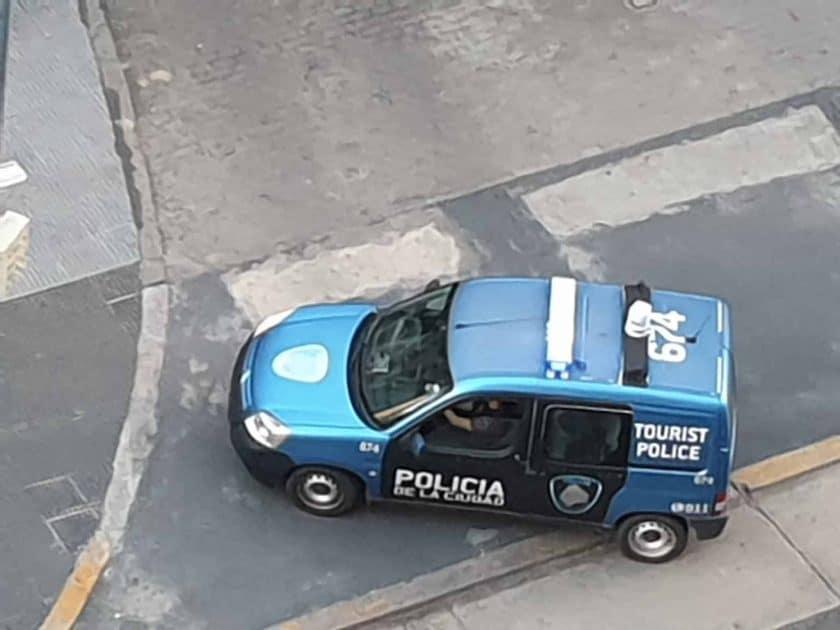 Touristenpolizei sehr praesent 1