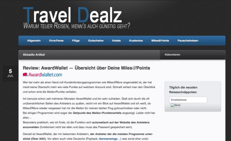 Travel-Dealz 2011