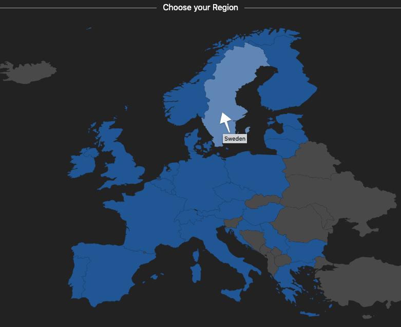 Travel Dealz EU Regions