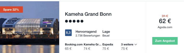 Travel Dealz Kameha Grand Bonn