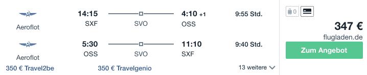Travel Dealz SXF OSS Aeroflot 1