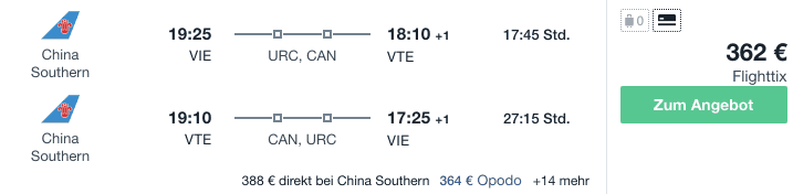 Travel Dealz VIE VTE China Southern 1