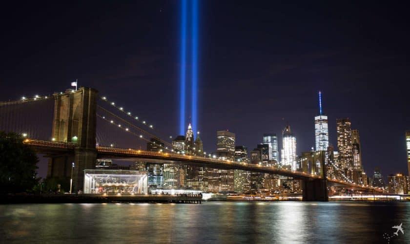 Tribute in Light, New York, USA