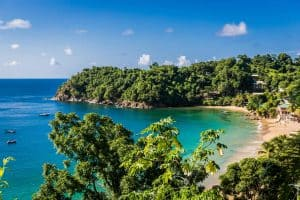 Strand auf Trinidad