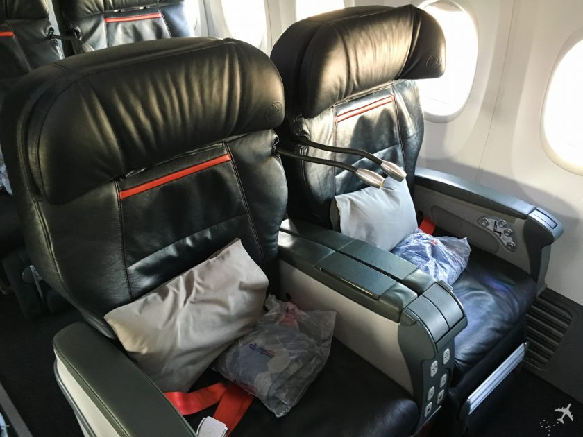 Turkish Airlines Business Class Boeing 737-900