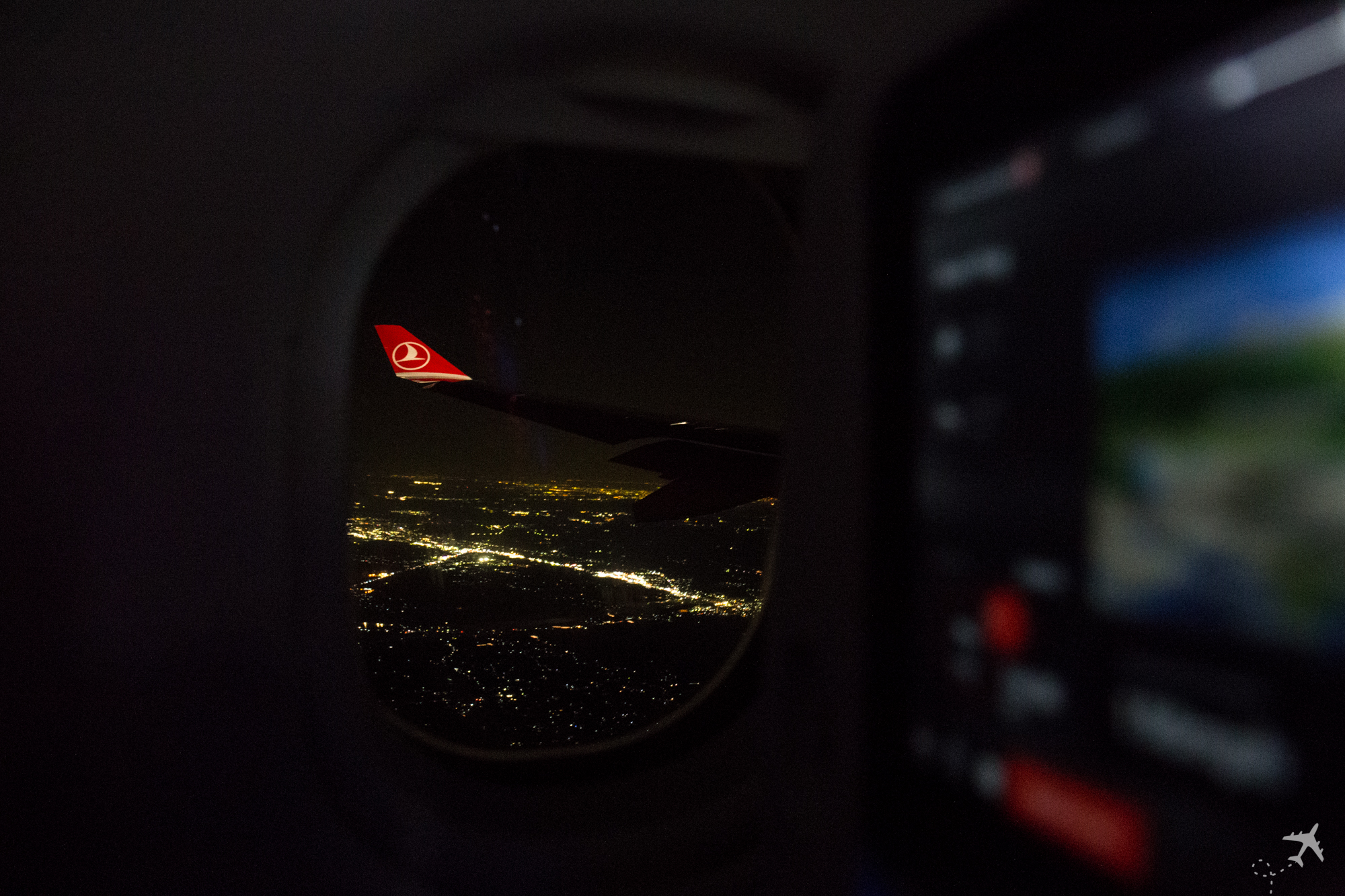 Turkish Airlines InFlight Instanbul