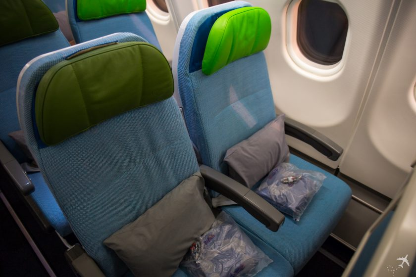 Turkish Airlines Economy Class Sitze A330