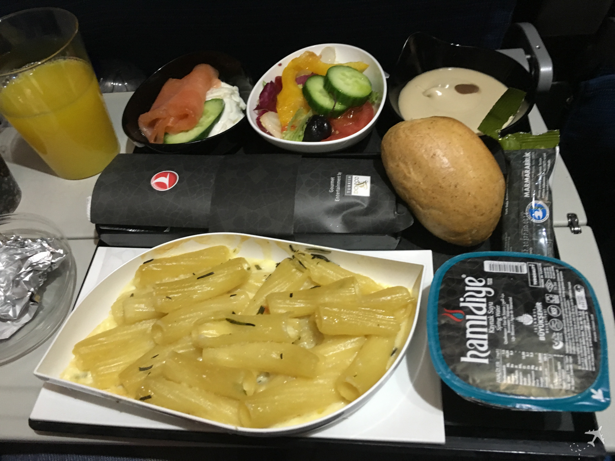 Turkish Airlines Economy Class Essen Langstrecke