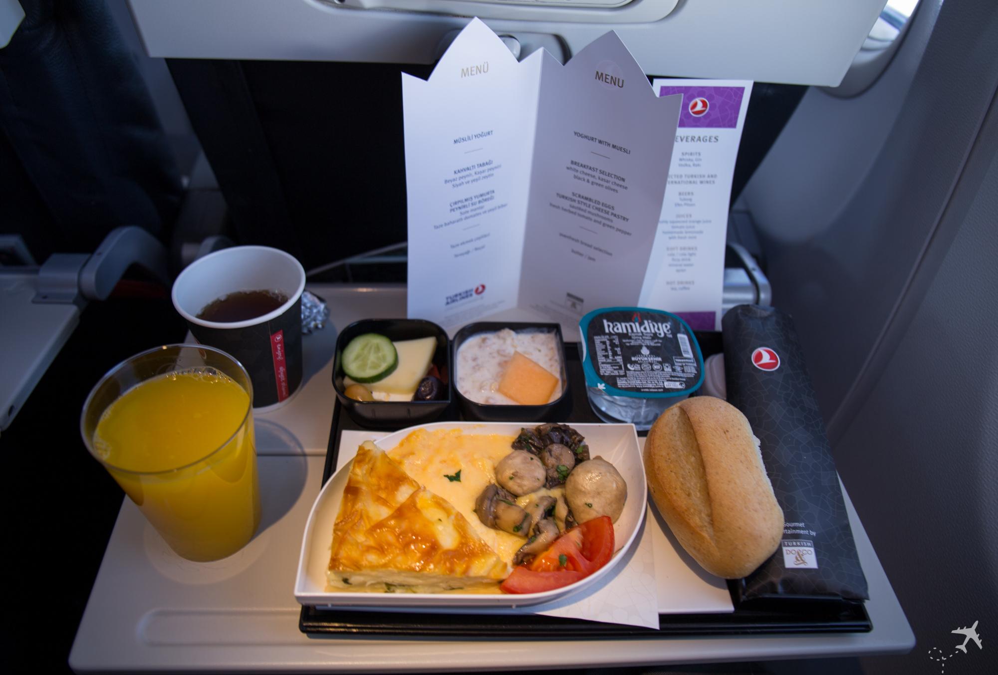 Turkish Airlines Economy Class Essen Mittelstrecke Rückflug