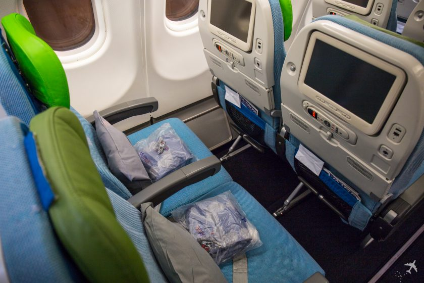 Turkish Airlines Economy Class A330 Sitzabstand