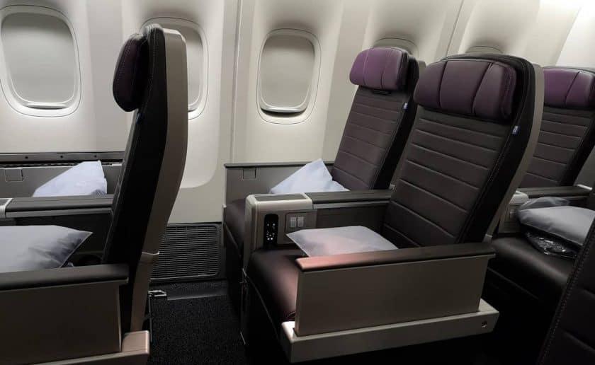 Uniteds Airlines Premium Economy Premium Plus