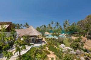 Übersicht Eden Beach Resort
