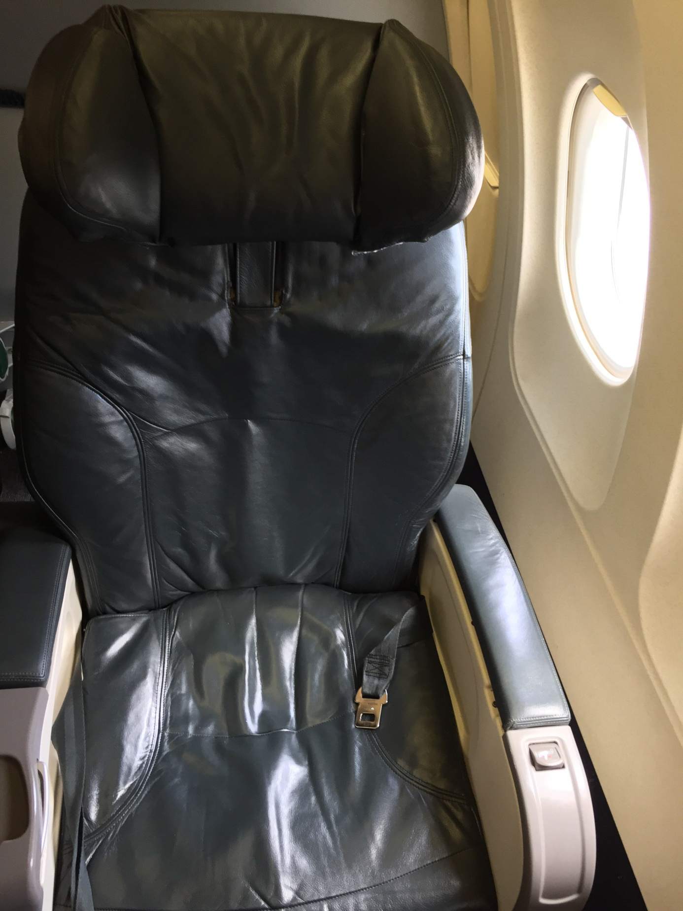 United Airlines Domestic First Class Sitz