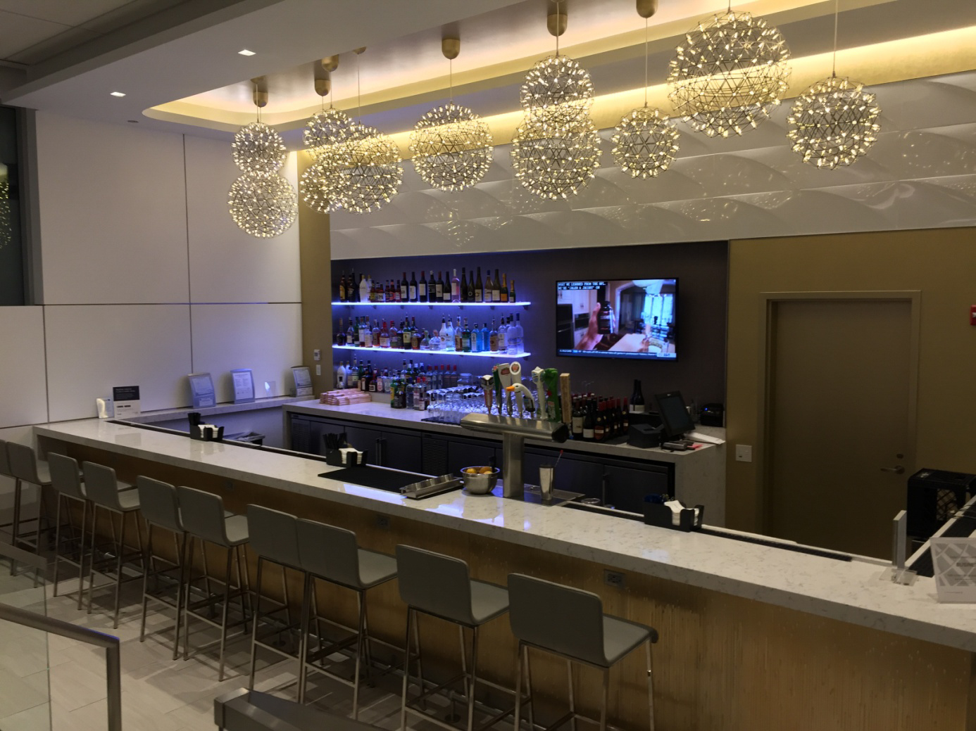 United Club Chicago Bar
