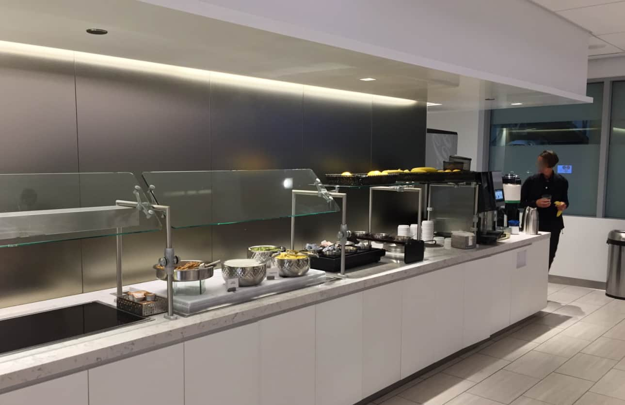 United Club Chicago Buffet
