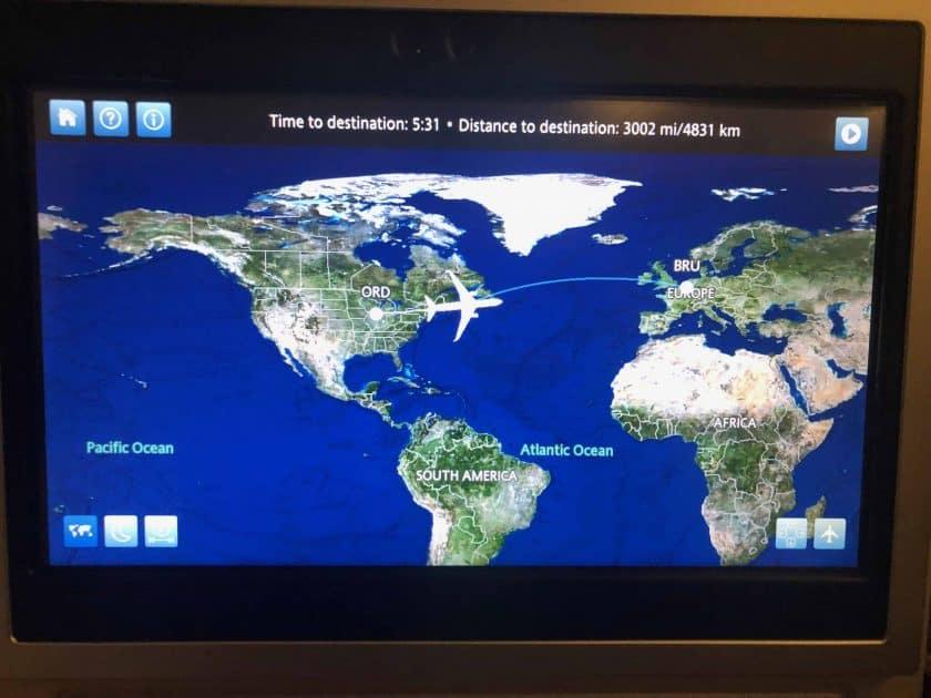 United Polaris Bewertung IFE Airshow