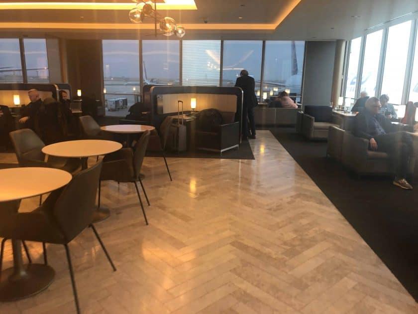 United Polaris Bewertung Lounge