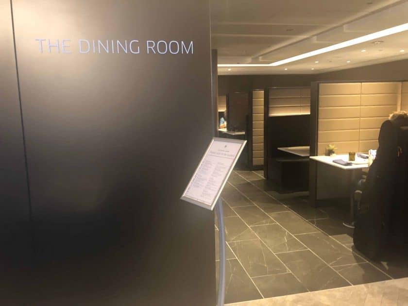 United Polaris Bewertung Lounge Dining