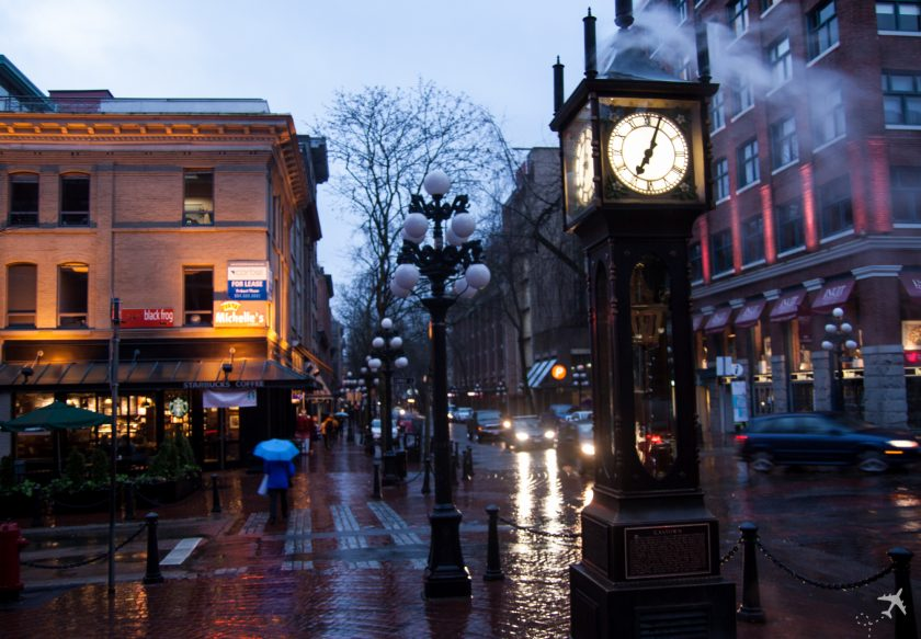 Steam Clock - Gastown, Vancouver, Kanada