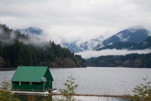 Capilano Lake, Vancouver, Kanada