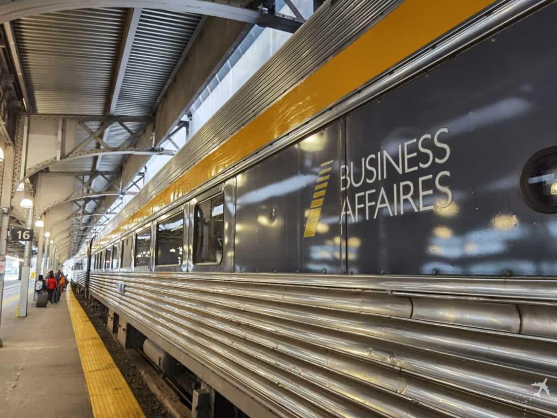Via Rail Toronto Ottawa Business Wagen