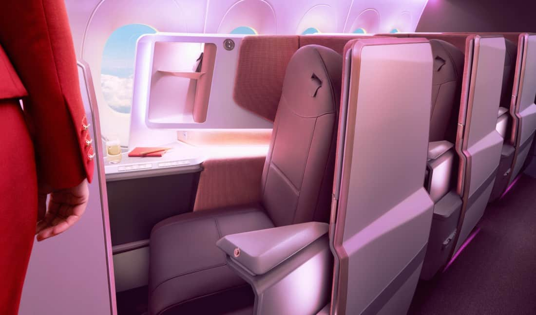 Virgin Atlantic Upper Business Class A350