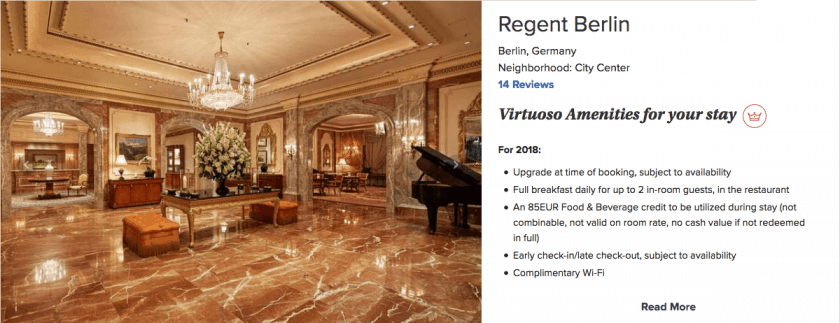 Virtuoso Regent Berlin