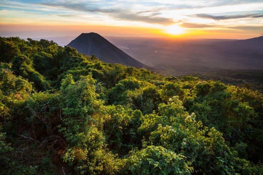Vulkan in El Salvador
