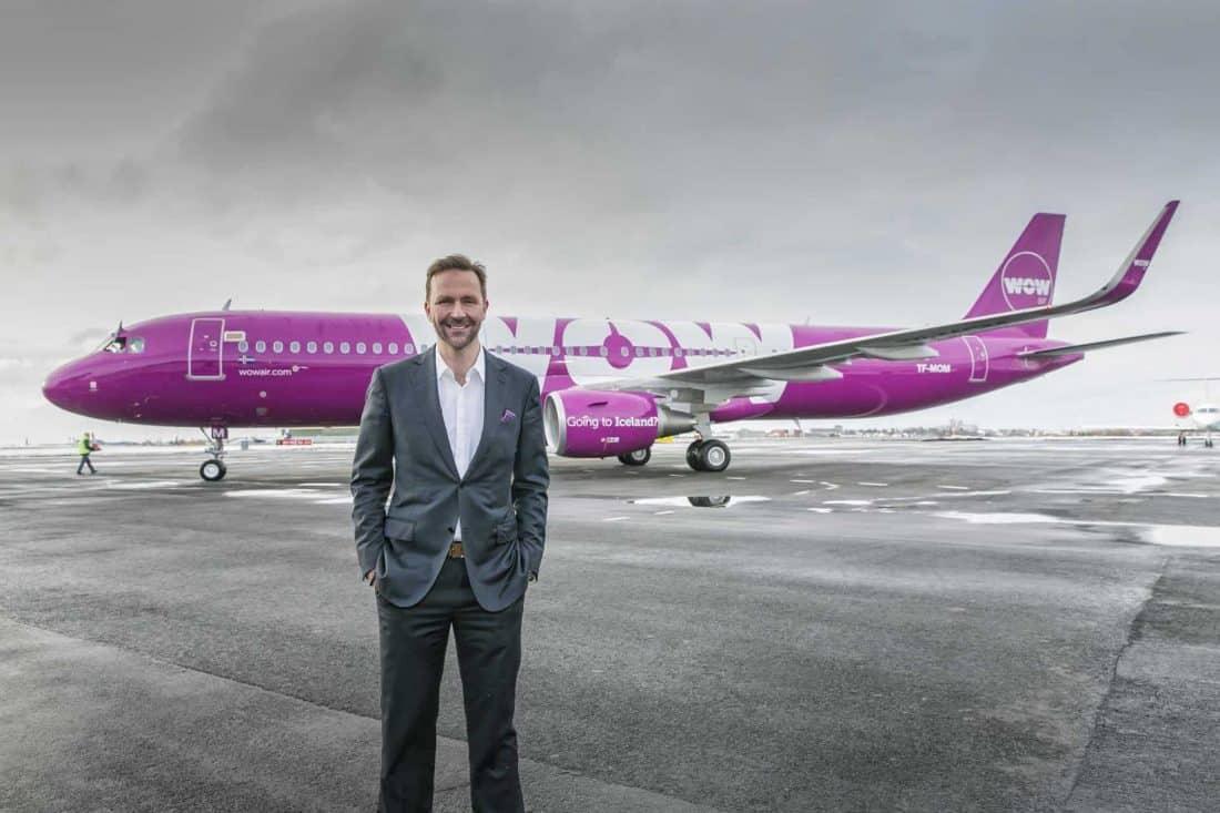 WOW Air CEO