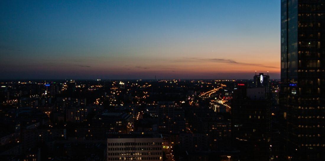 Ausblick InterContinental Warschau