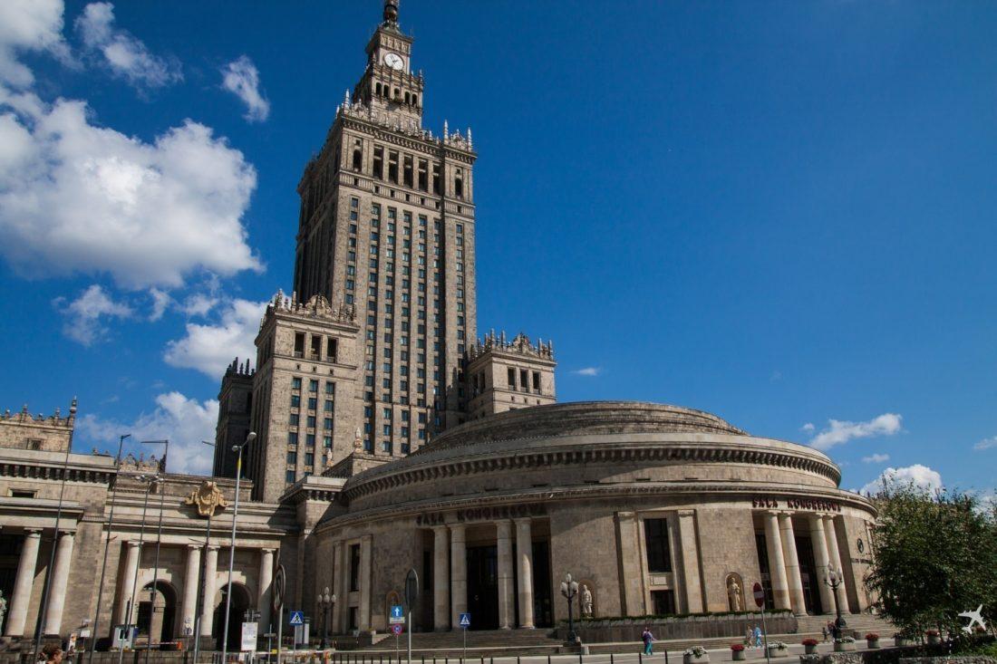 Kultur- und Wissenschaftspalast Warschau