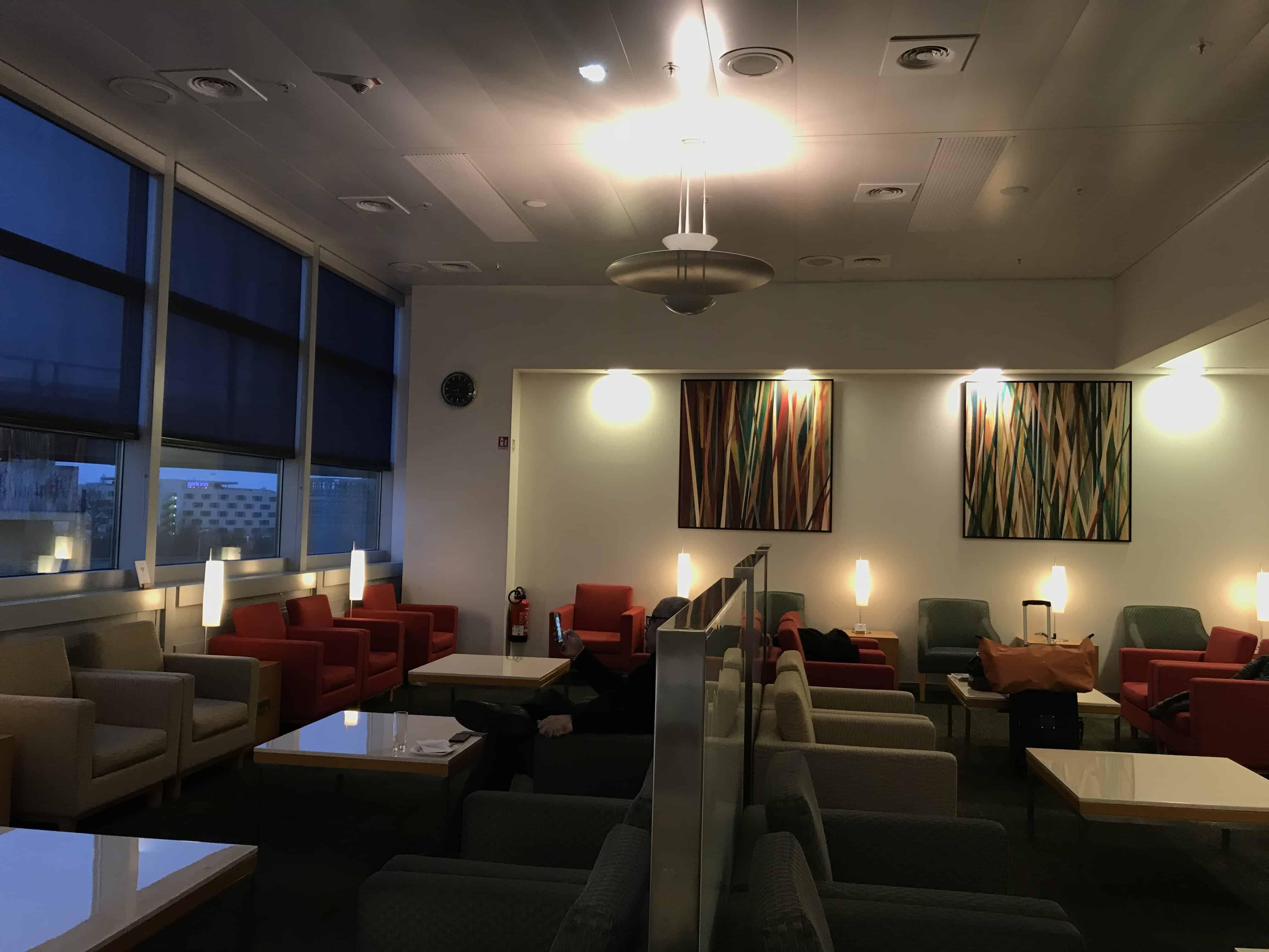 Gulf Air Bewertung - Lounge Frankfurt