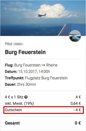 Wingly Flug 0€