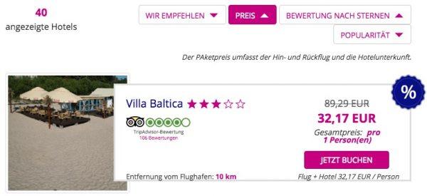 WizzTours Gutschein eingelöst