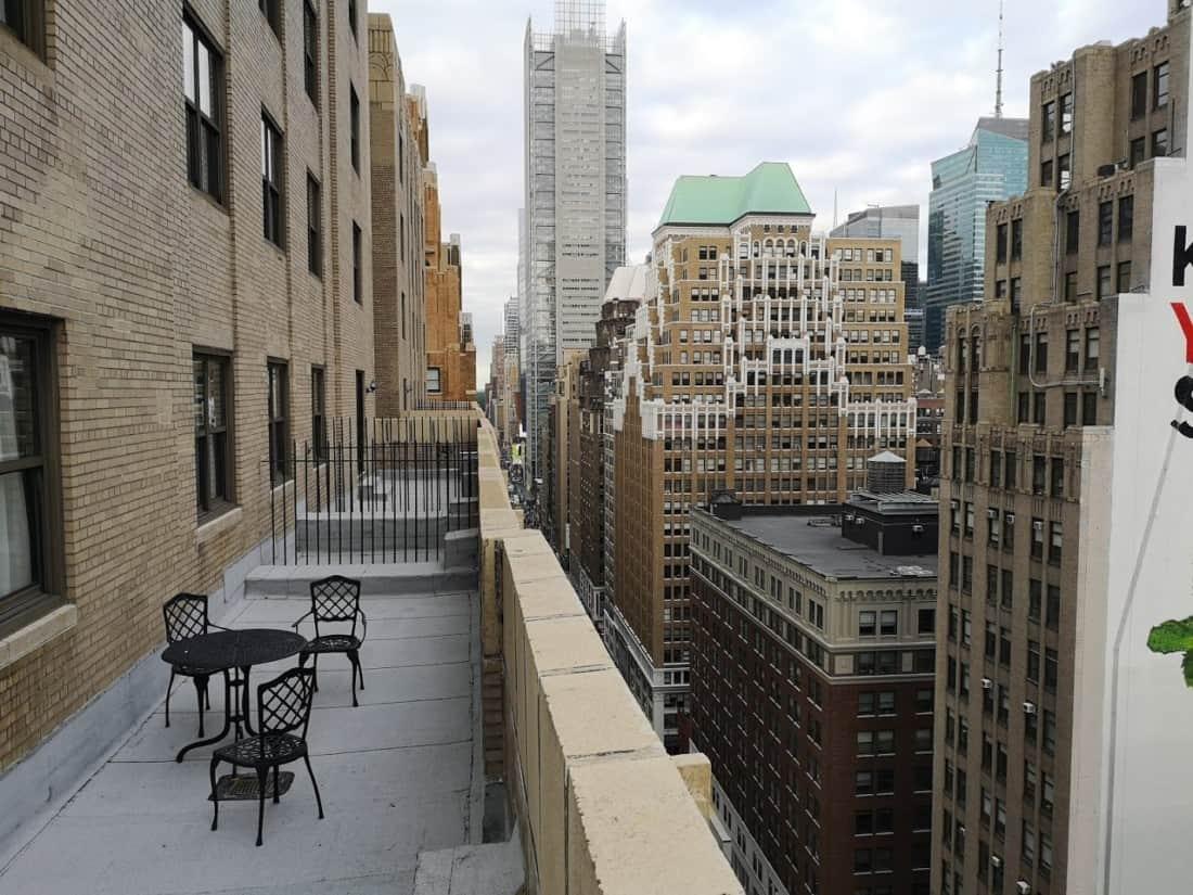 Wyndham New Yorker Terrasse