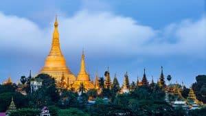 Yangon Rangun, Myanmar