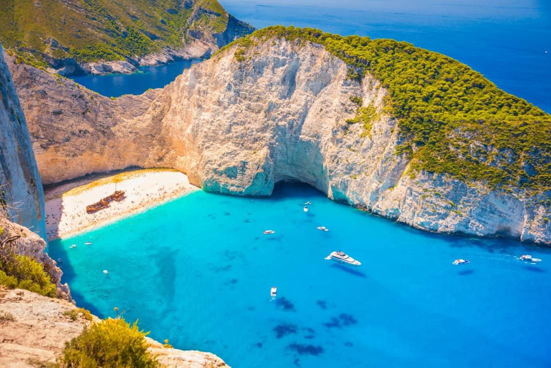 Zakynthos Griechenland Schmuggler Bucht