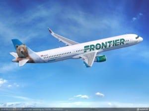 Airbus A321 von Frontier Airlines