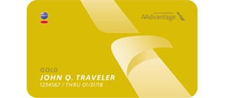 aadvantage elite status gold card art