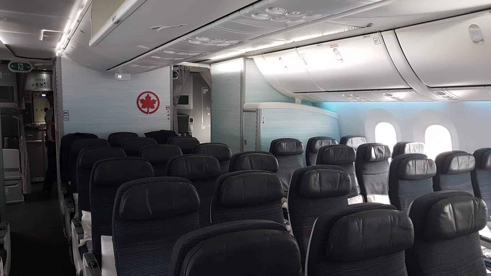 Bewertung Air Canada Economy Frankfurt Vancouver Im