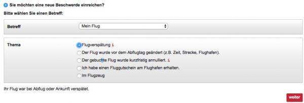 Air Berlin Kontakt Flugverspätung