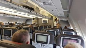 american airlines eco kabine