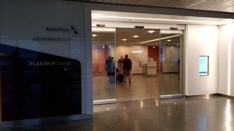 American Flagship Lounge Ord Eingang