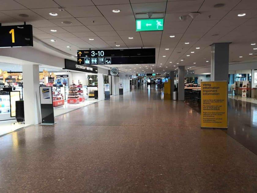 arlanda airport empty 2
