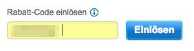 Einlösen-Button anklickbar bei Hotels.com
