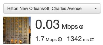 Hilton New Orleans St. Charles Avenue Lounge WiFi