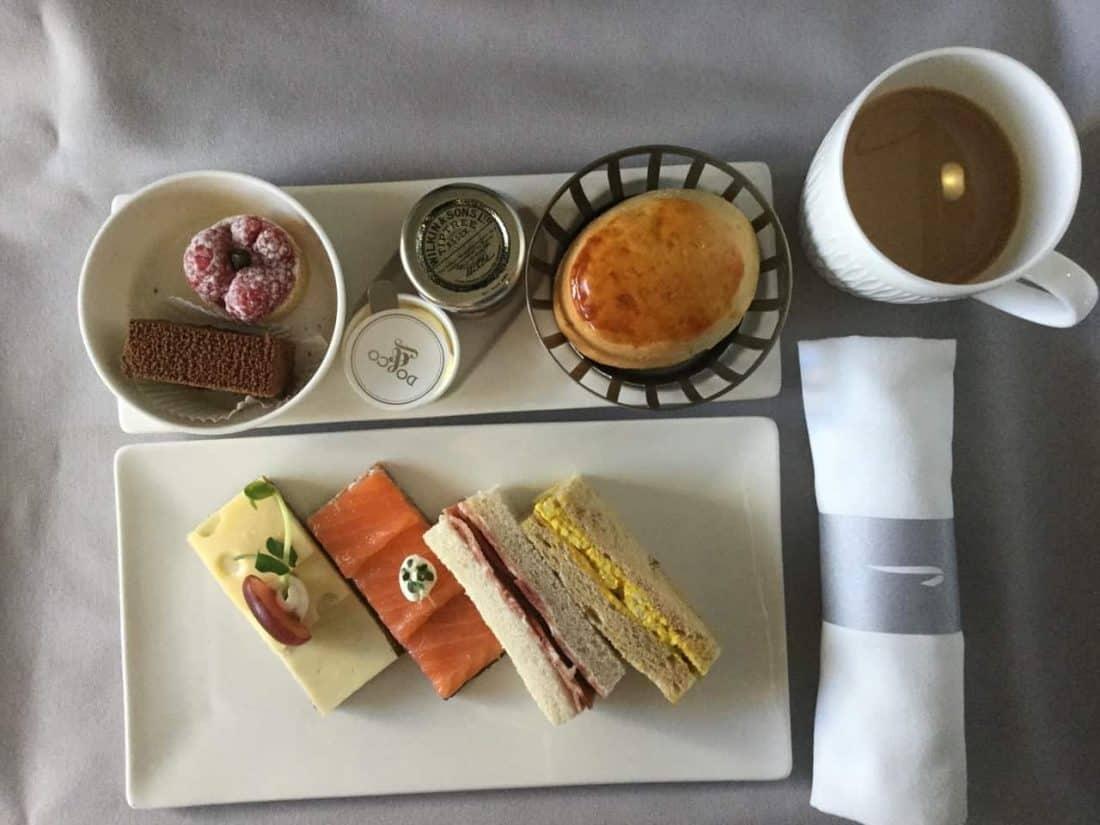 ba clubworld 747 afternoon tea 1